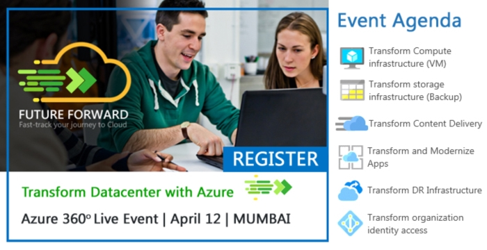 Azure 360 Degree Live Event- Transform Datacenter with Azure